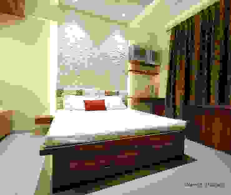 Masster Bedroom Navmiti Designs Modern style bedroom Wood Wood effect