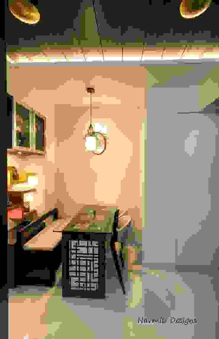 Dining area Navmiti Designs Modern dining room