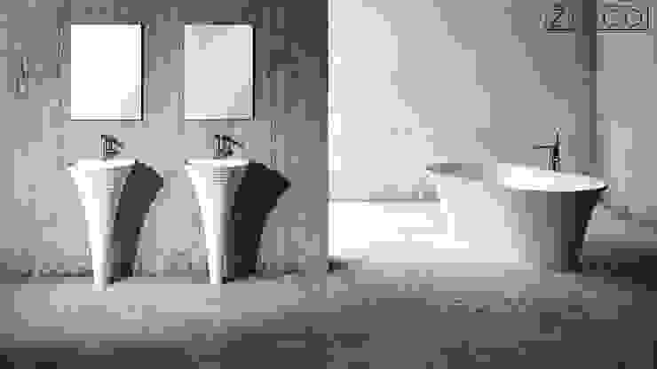 Baños de estilo moderno de ZICCO GmbH - Waschbecken und Badewannen in Blankenfelde-Mahlow Moderno