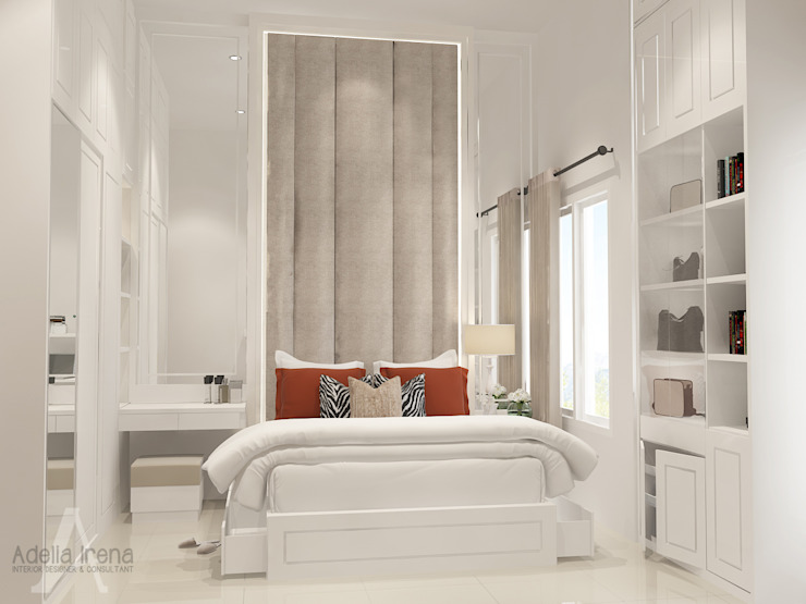 Classic style bedroom by AIRE INTERIOR Classic Engineered Wood Transparent