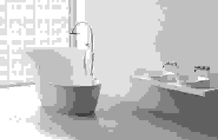 Freistehende Badewanne Vega ZICCO GmbH - Waschbecken und Badewannen in Blankenfelde-Mahlow Moderne Badezimmer Marmor Weiß