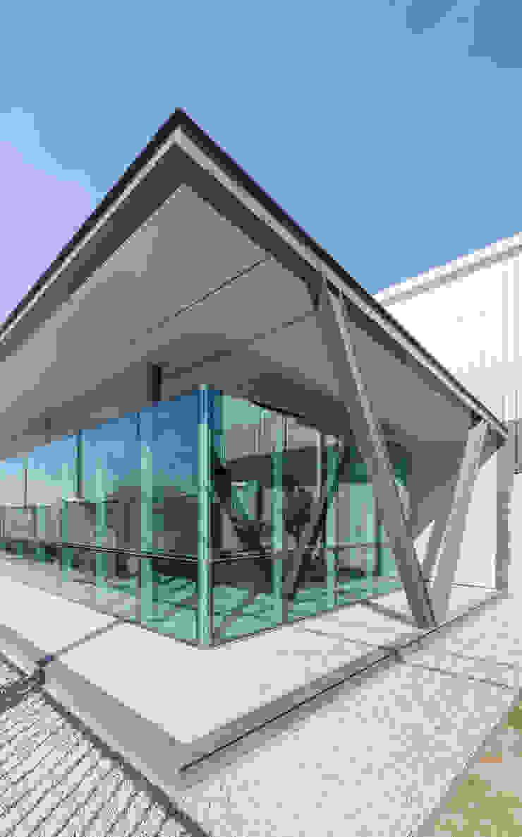 OFICINAS INDUSTRIALIZADAS - Autores: Estudio Mauricio Morra Arquitectos Edificios de oficinas de estilo industrial de Mauricio Morra Arquitectos Industrial