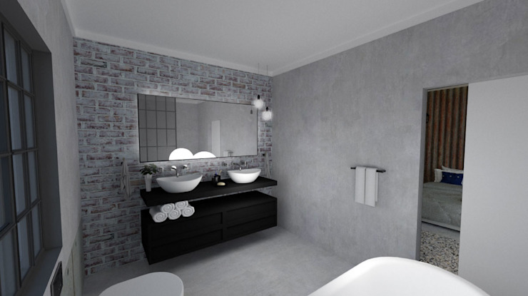 EN-Suite Bathroom Modern style bathrooms by A4AC Architects Modern Concrete