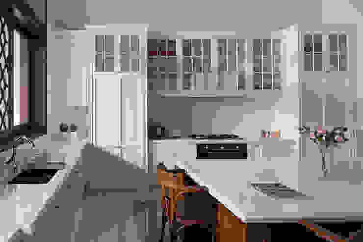 LP House ARF interior Dapur Klasik Kayu