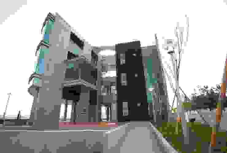 구미 해마루공원 전망대 모던스타일 주택 by 건축사사무소 CSU 모던