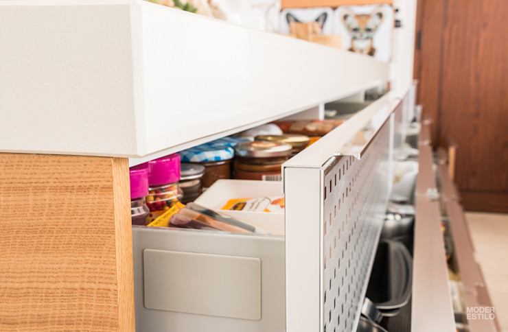 Moderestilo - Cozinhas e equipamentos Lda Unit dapur Wood effect