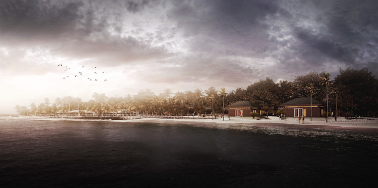 Pulau Seribu Resort:modern  oleh Aeternite, Modern