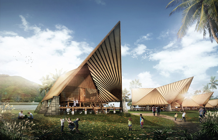 Danau Toba Resort:modern  oleh Aeternite, Modern