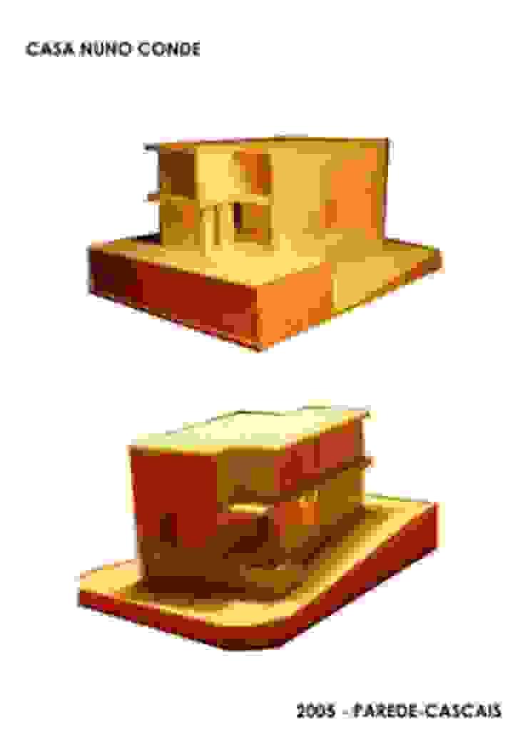 Rodrigo Roquette Modern walls & floors Tiles Beige