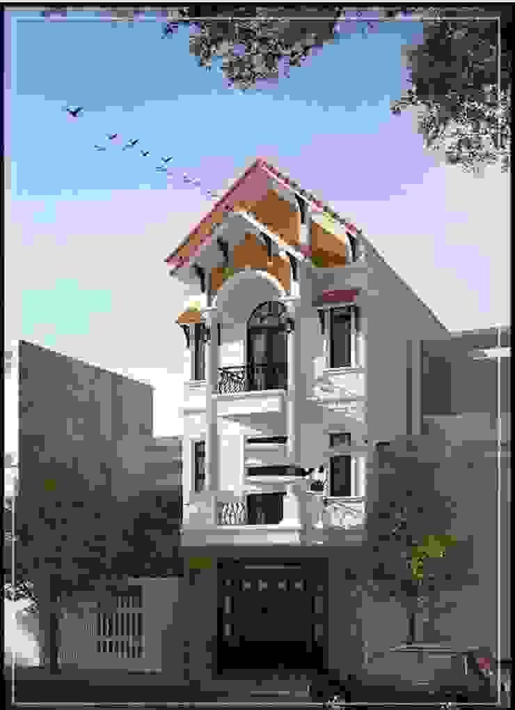 Nhà mái thái với ngói là kiến trúc du nhập vào việt nam từ thế kỹ 20 cho đến nay vẫn được khách hàng yêu thích bởi Công ty Thiết Kế Xây Dựng Song Phát Châu Á