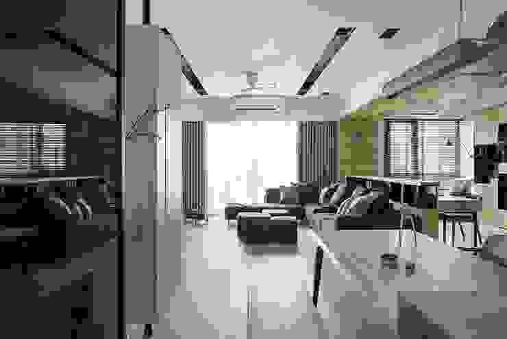 詩賦室內設計 Phòng khách phong cách Bắc Âu