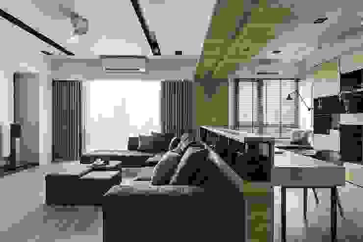 Scandinavian style living room by 詩賦室內設計 Scandinavian
