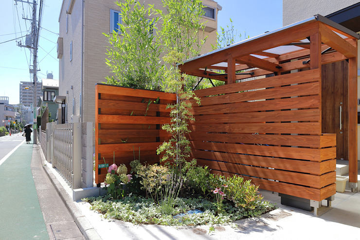 Garten im Landhausstil von シーズ・アーキスタディオ建築設計室 Landhaus