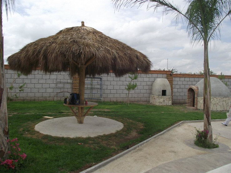 Quinta Providencia TECTUM Diseño & Construccion Jardines de piedra Arenisca Acabado en madera