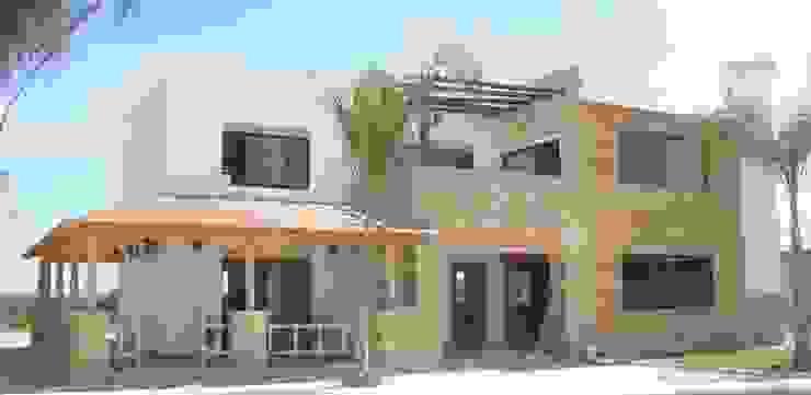 Projekty,  Willa zaprojektowane przez TECTUM Diseño & Construccion, Śródziemnomorski Beton