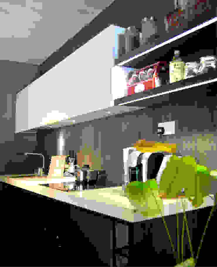 Industrial Modern Contemporary by Singapore Carpentry Interior Design Pte Ltd Modern