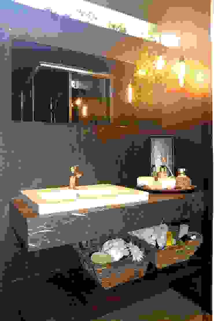 Industrial Modern Contemporary Modern bathroom by Singapore Carpentry Interior Design Pte Ltd Modern