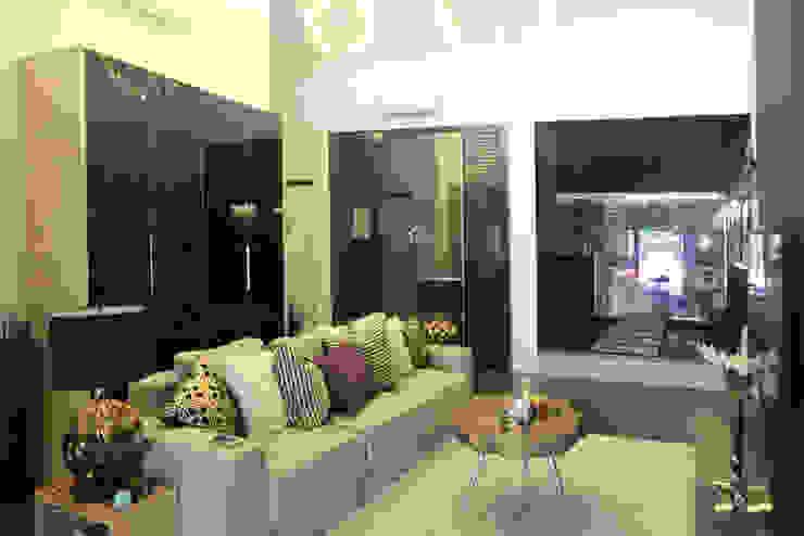 Industrial Modern Contemporary Modern living room by Singapore Carpentry Interior Design Pte Ltd Modern