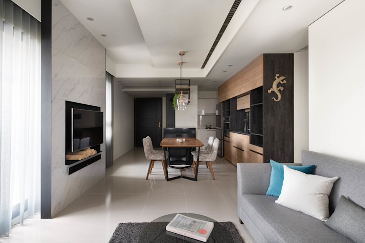 Zhuang's Residence 根據 簡致制作SimpleUtmost Design