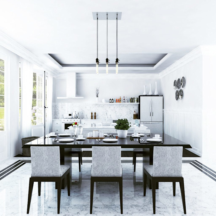 French Dining Room:modern  oleh Aeternite, Modern