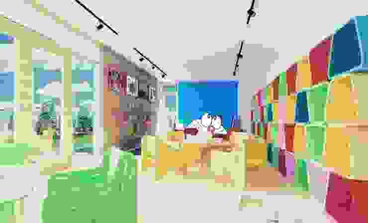 Rainbow Daycare:modern  oleh Aeternite, Modern
