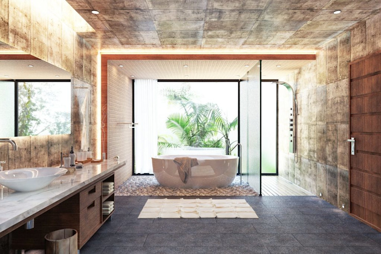 Zen Room:modern  oleh Aeternite, Modern