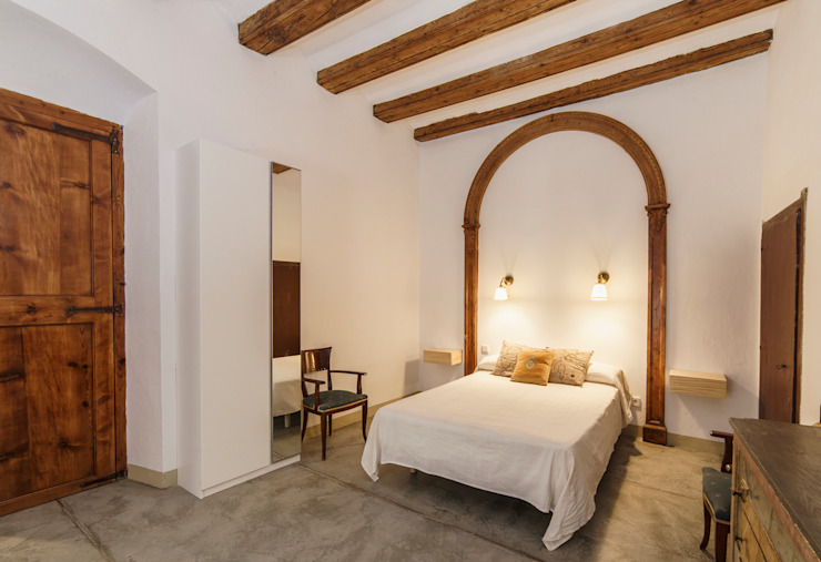 Arquivistes Estudi Country style bedroom