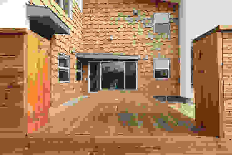 시다세이크 입면 by 주택설계전문 디자인그룹 홈스타일토토 모던 우드 우드 그레인