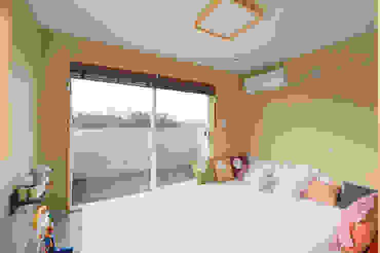 아토피 낫게한 홍성 우리집 모던스타일 침실 by 주택설계전문 디자인그룹 홈스타일토토 모던 우드 우드 그레인