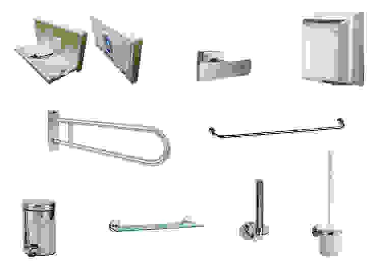 Acor México Corridor, hallway & stairsClothes hooks & stands