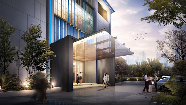 BCA Office:modern  oleh Aeternite, Modern