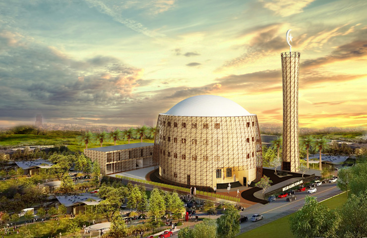 Pemalang Central Mosque:modern  oleh Aeternite, Modern