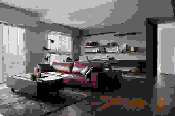 邑田空間設計 Salas de estilo moderno