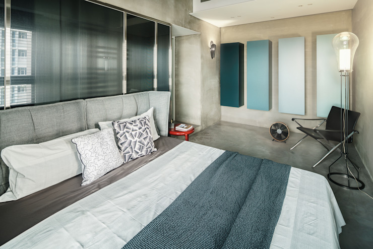 Eclectic style bedroom by 沈志忠聯合設計 Eclectic