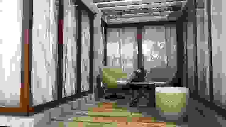 Piscinas de estilo moderno de K Square Architects Moderno