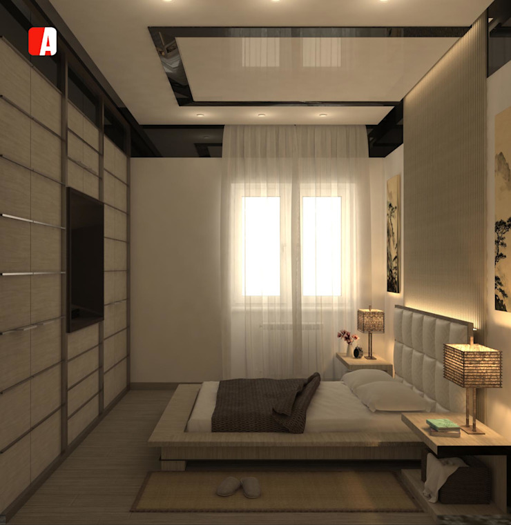 Asian style bedroom by Il Migliore Architetto Asian