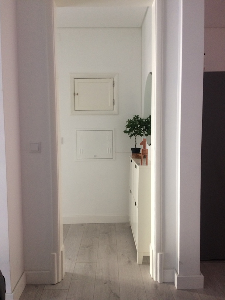 CSR Moderner Flur, Diele & Treppenhaus
