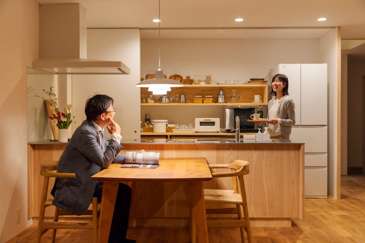Eclectic style dining room by 五藤久佳デザインオフィス有限会社 Eclectic