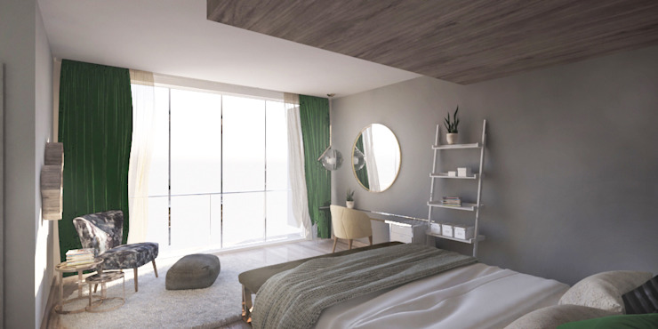 Private House - Summerveld Modern style bedroom by Dedekind Interiors Modern