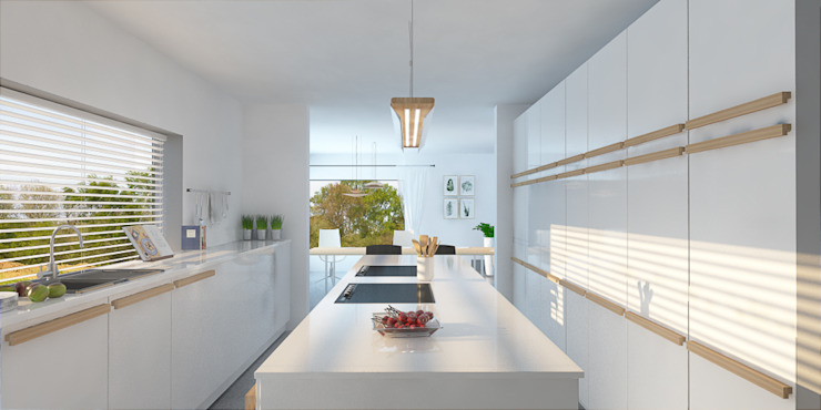 Kitchen - Dutch House Modern kitchen by Dedekind Interiors Modern