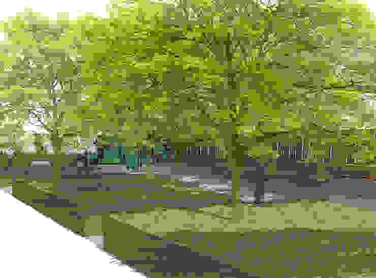 Conceptual Design for RHS Chelsea de Aralia Moderno Madera Acabado en madera