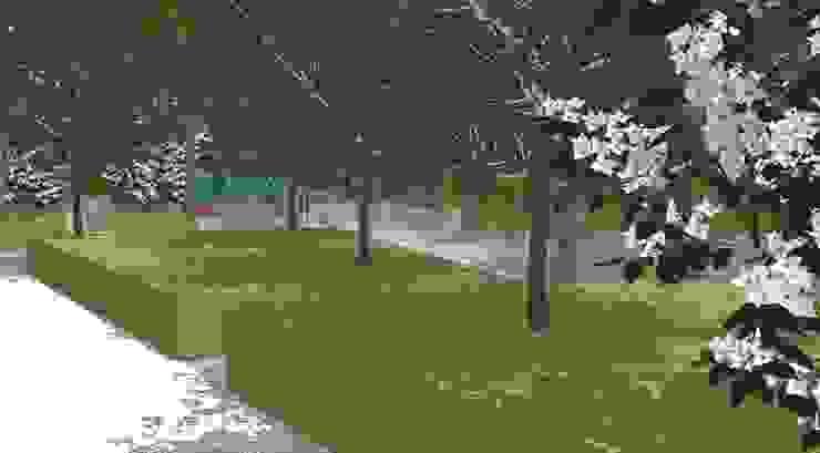 Conceptual Design for RHS Chelsea Jardines de estilo moderno de Aralia Moderno Piedra
