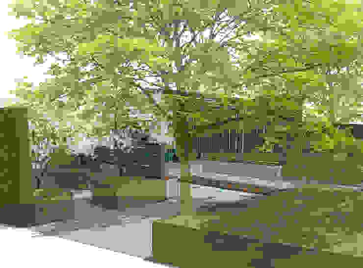 Conceptual Design for RHS Chelsea de Aralia Moderno Piedra