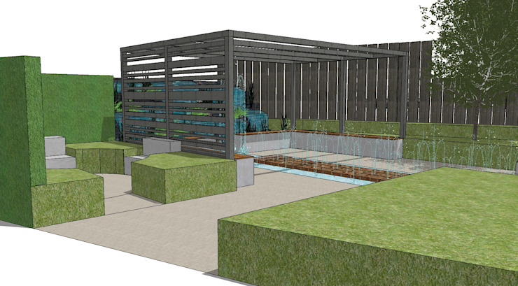 Conceptual Design for RHS Chelsea de Aralia Moderno Metal