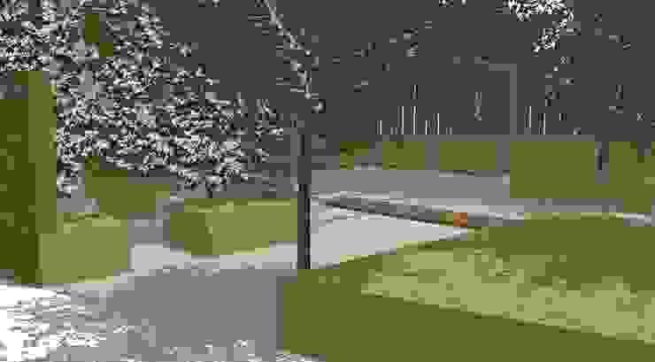 Conceptual Design for RHS Chelsea de Aralia Moderno Caliza