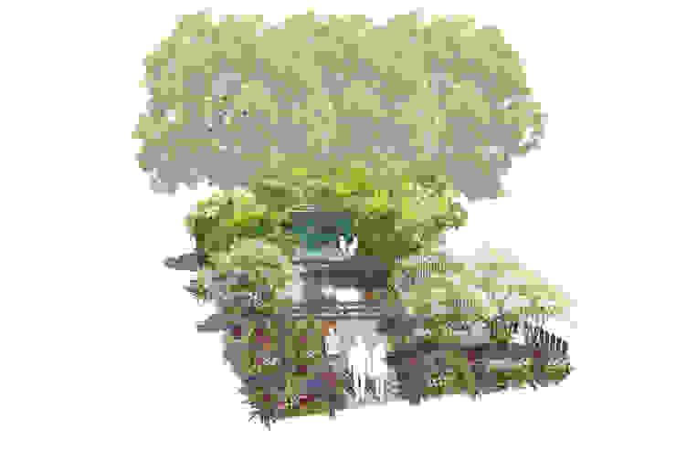 Conceptual Design for RHS Chelsea de Aralia Moderno Pizarra