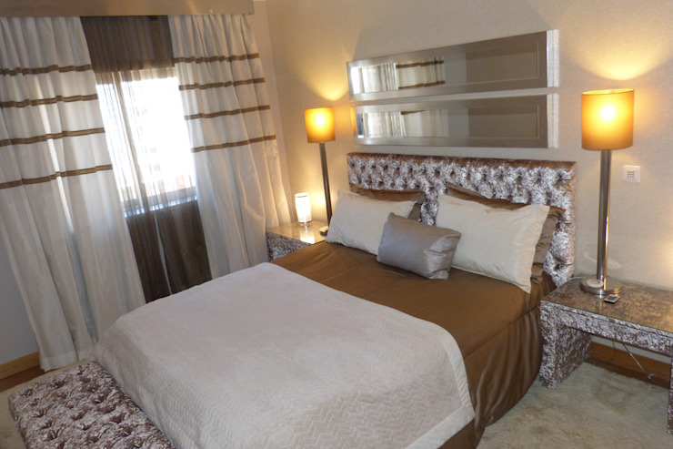 EU LISBOA Mediterranean style bedroom