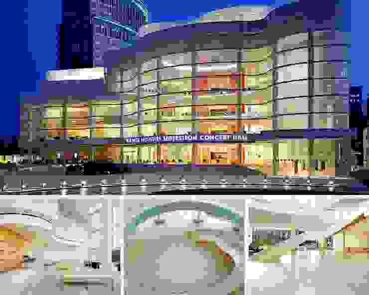 RENEE AND HENRY SEGERSTROM CONCERT HALL Centros de convenciones de estilo escandinavo de LEVANTINA Escandinavo Mármol