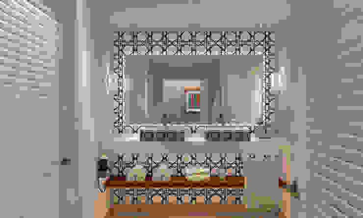 MODEL UNIT FOR THE SHERATON GRAND LOS CABOS Progressive Design Firm Baños modernos