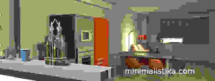 Loft Familiar de Minimalistika.com Minimalista Aglomerado